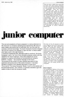 Junior in English
