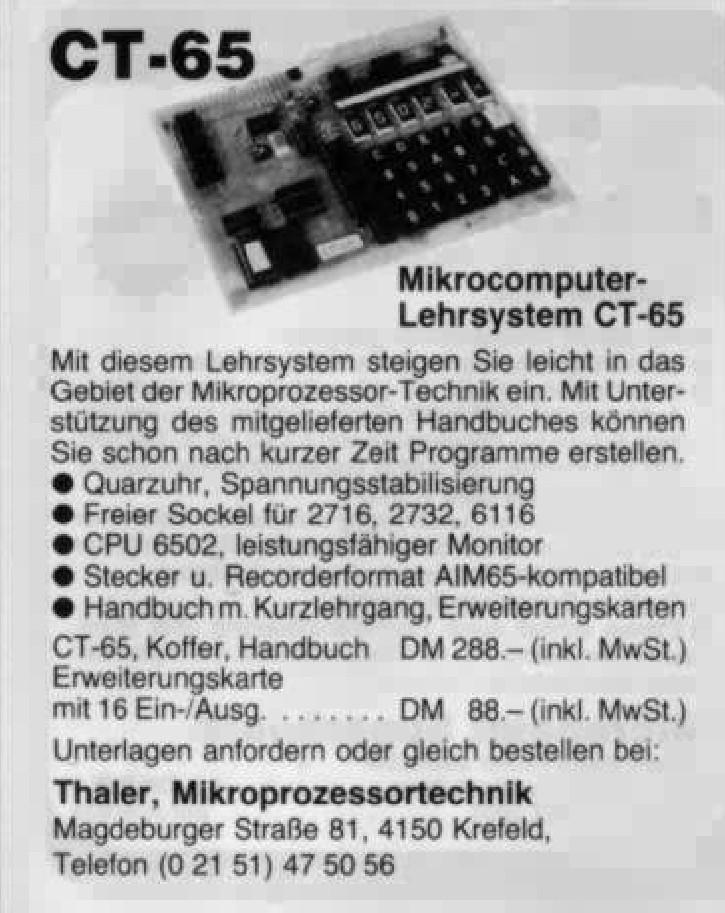 6502 – Retro Computing